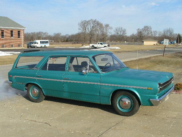 1968 - AMC RAMBLER, AMERICAN 440 STATIONWAGON