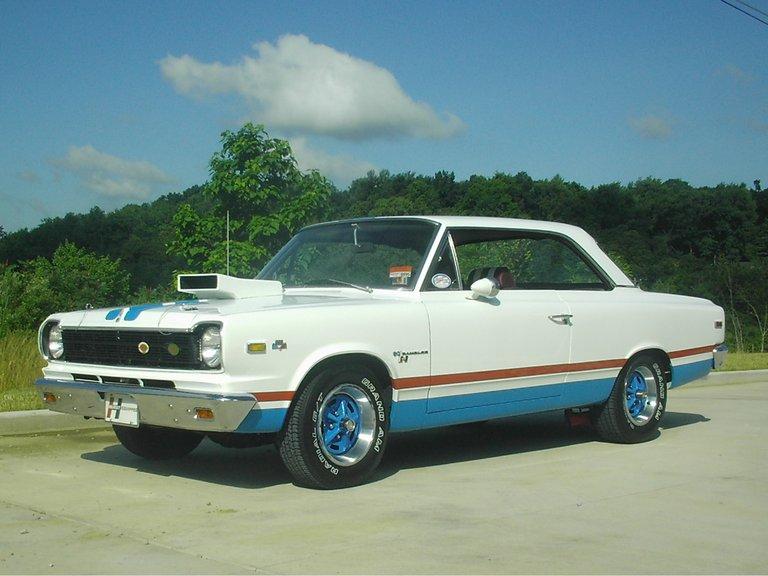 1969 - American Motors  (AMC), Hurst SC/Rambler, B-paint scheme