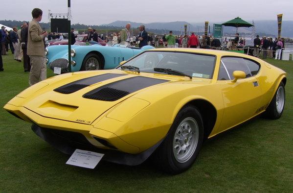 1970 - American Motors, AMX:3 Coupe