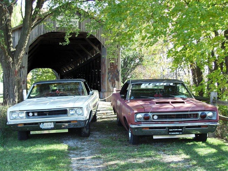 1968 - American Motors, Rebel 550, Rebel SST Prototype Convertibles