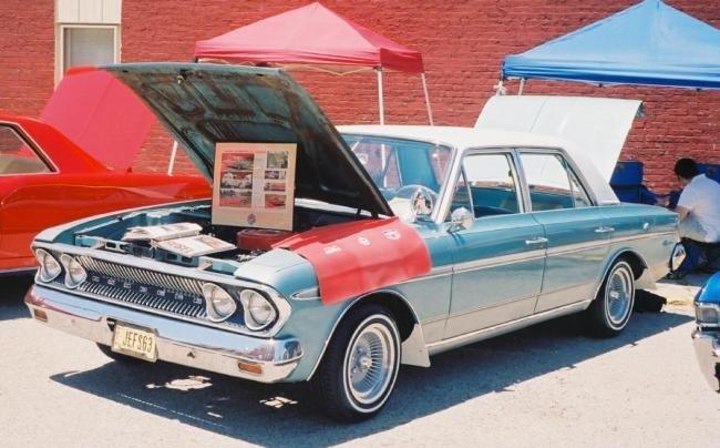 1963 - AMC Rambler, Classic 770 4dr