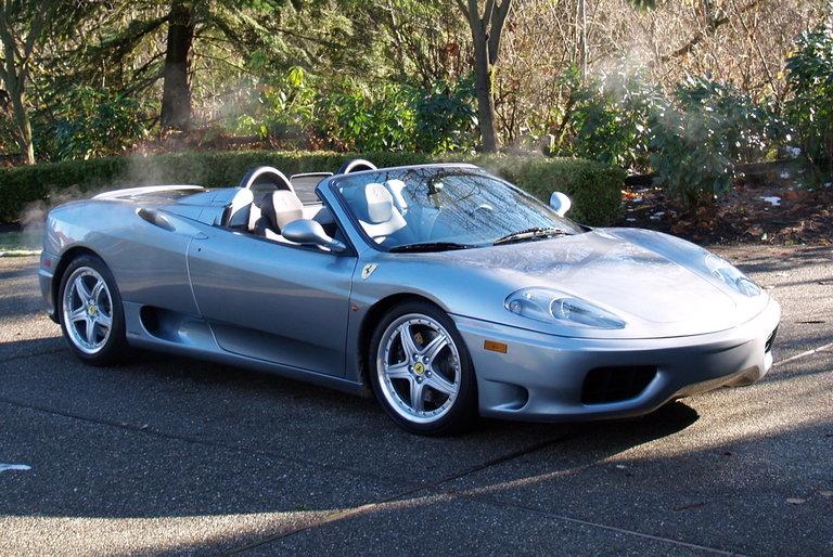 2004 - Ferrari, 360 Spider