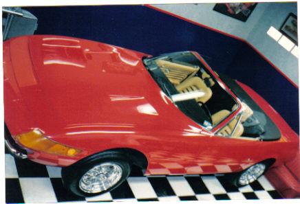 1971 - Ferrari, Daytona Spyder