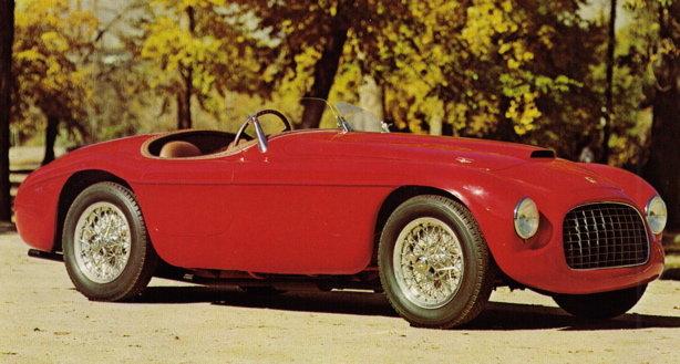 "1949 - Ferrari, Roadster Type 156 MM ""Barchetta"""