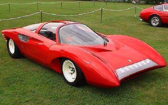 1968 - Ferrari, 250 P5 Berlinetta Speciale