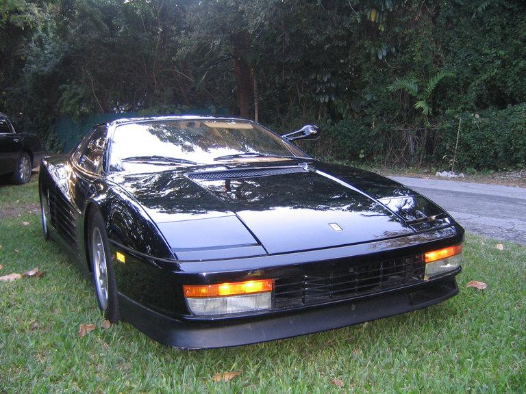 """1985 - Ferrari, """"Flying Mirror"""" Testarossa"""