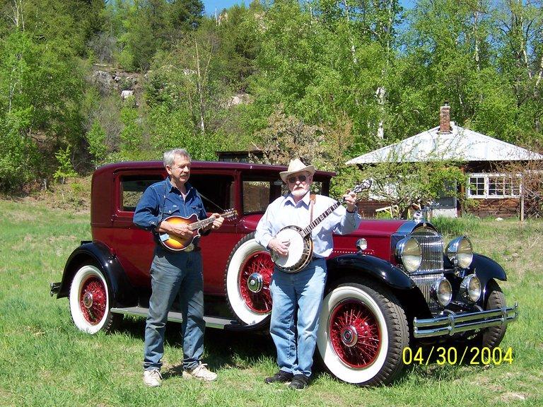 1930 - Packard 733, Club sedan