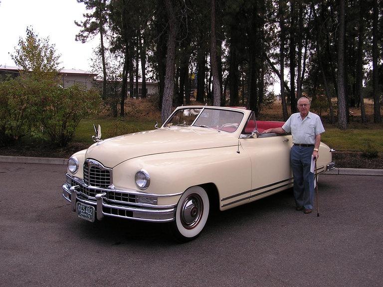 1948 - Packard, Custom 8 Victoria Convertible