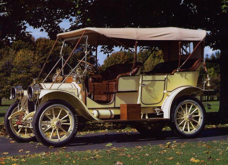 1910 - Packard, Model Eighteen Touring