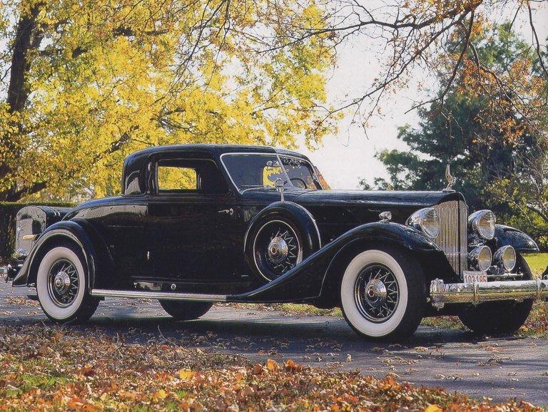 1933 - Packard, 1006 Dietrich Sport Coupe