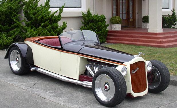1926 - Packard, Custom Bait Tail Speedster