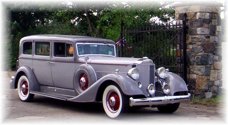 1934 - Packard, 1105 Seven Passenger Sedan