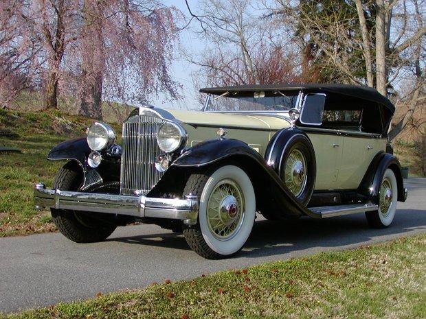 1932 - Packard, Twin Six Dual Cowl Phaeton
