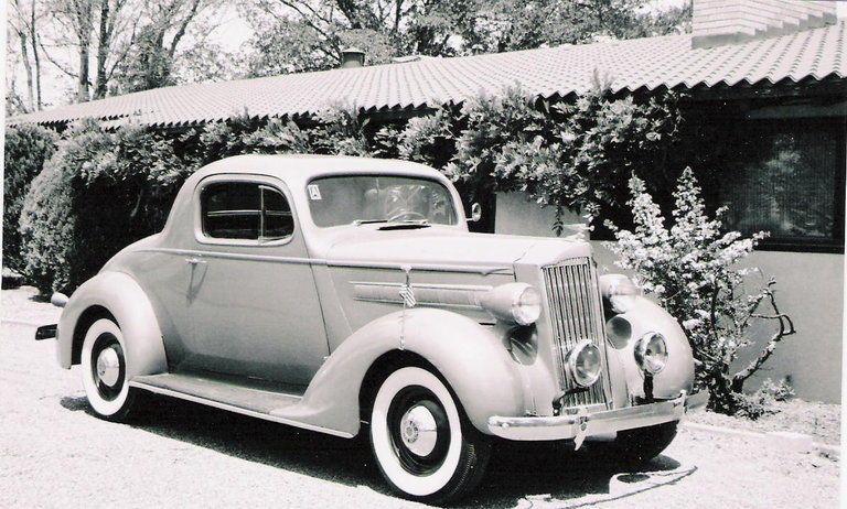 1937 - Packard, 115C Business Coupe