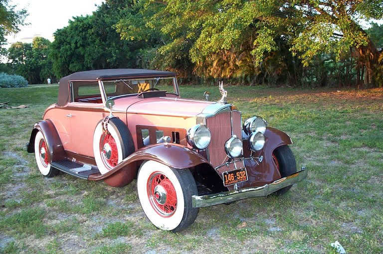 1932 - Packard, Light 8 900 Series Coupe Roadster