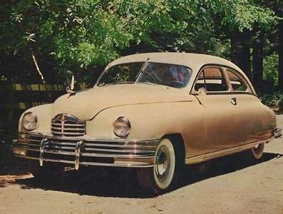 1948 - Packard, Deluxe Club Sedan