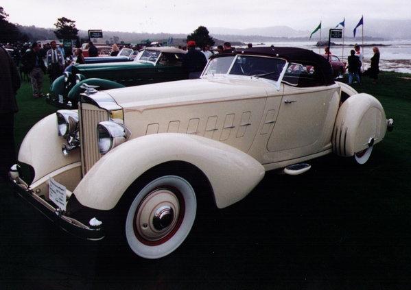 1934 - Packard, LeBaron Speedster