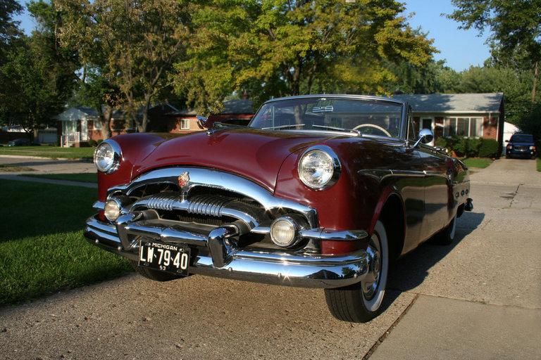 1953 - Packard, convertible, series 2631