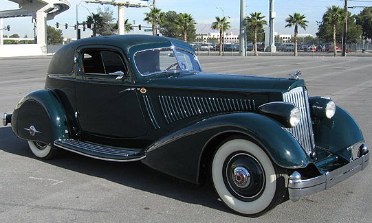 1934 - Packard, LeBaron 1106 Twelve Aero Sport Coupe