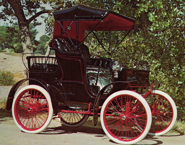 1900 - Packard, Model B Runabout