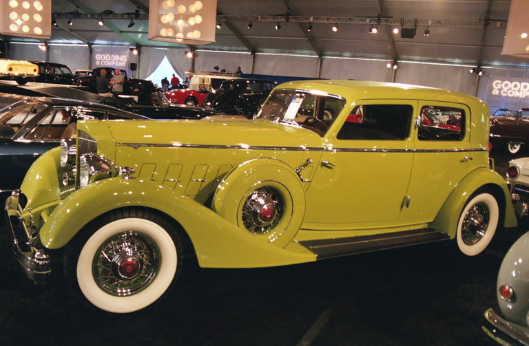 1934 - Packard, Twelve Dietrich Sport Sedan