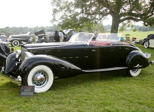 1934 - Packard, 1108 Twelve Sport Phaeton by LeBaron