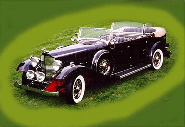 1933 - Packard, Packard 1004 Super Eight Sport Phaeton (dual cowl)