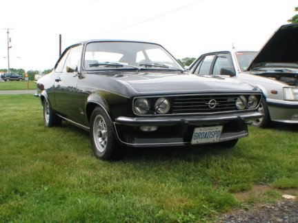 1975 - Opel, Manta Turbo