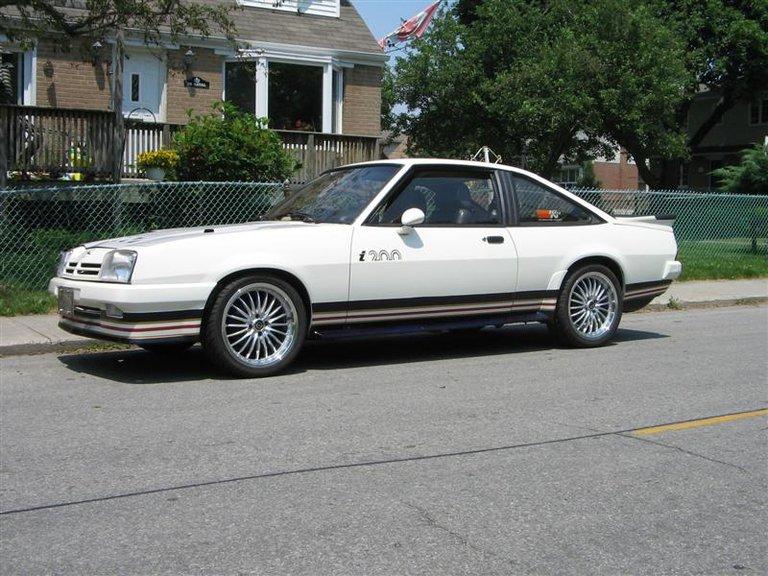 1984 - Opel, Manta i200