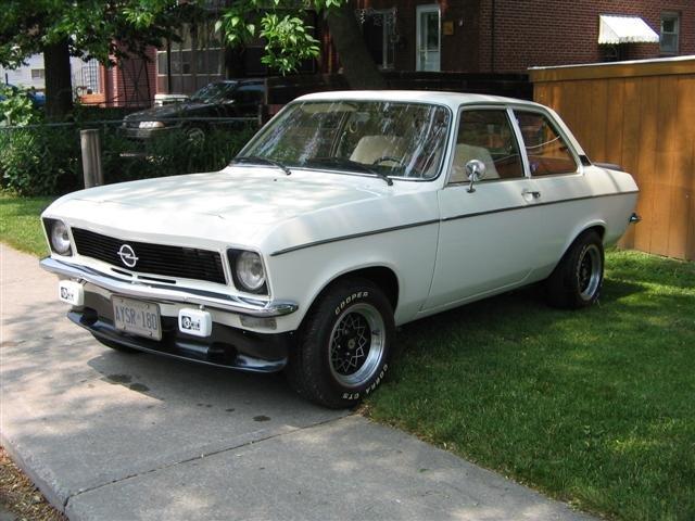 1972 - Opel, Ascona