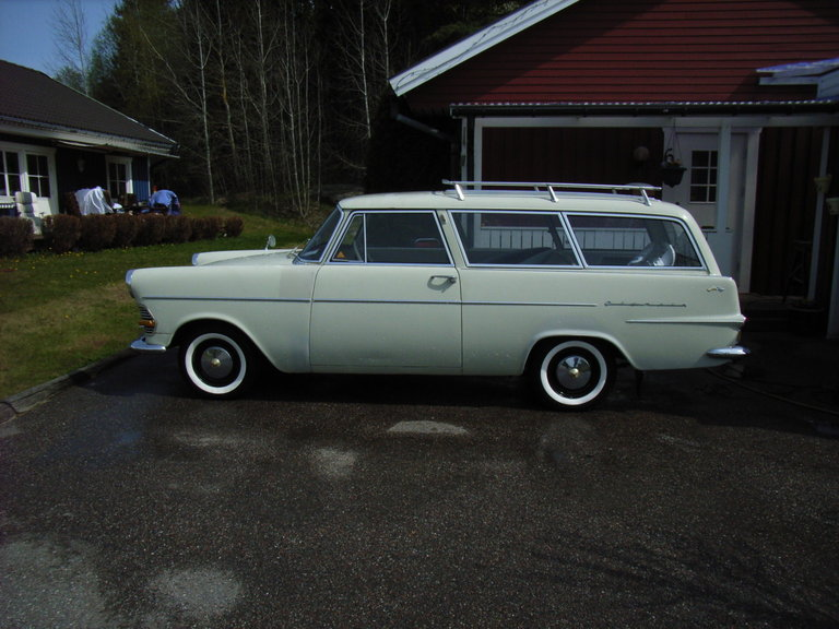 1962 - Opel, Opel olympia Caravan