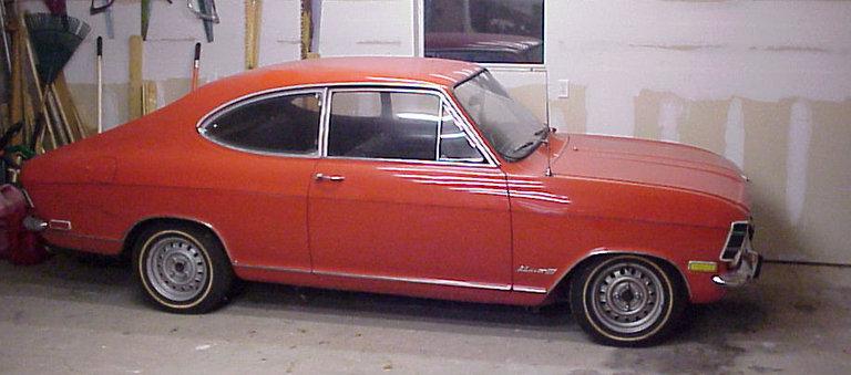 1968 - Opel, Rallye Kadett 1.5