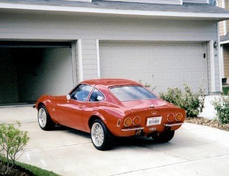 1969 - Opel, GT