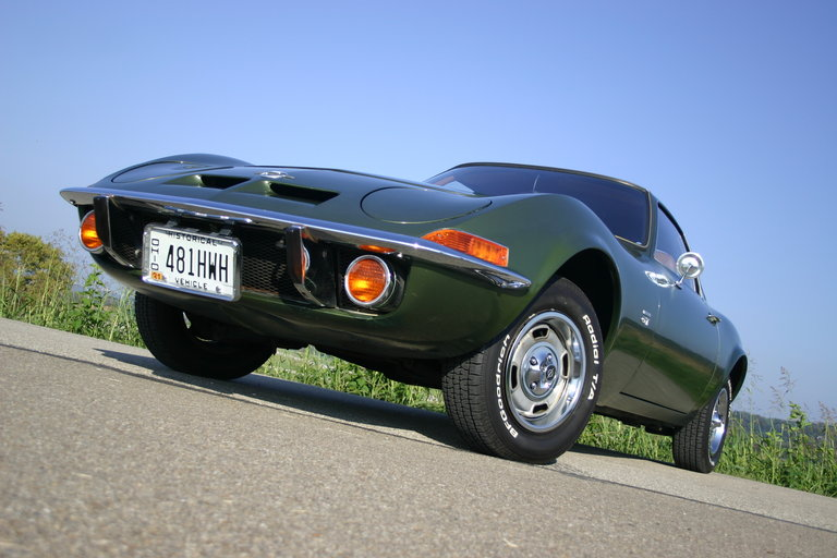 1969 - Opel, GT with the 1.1 Liter engine