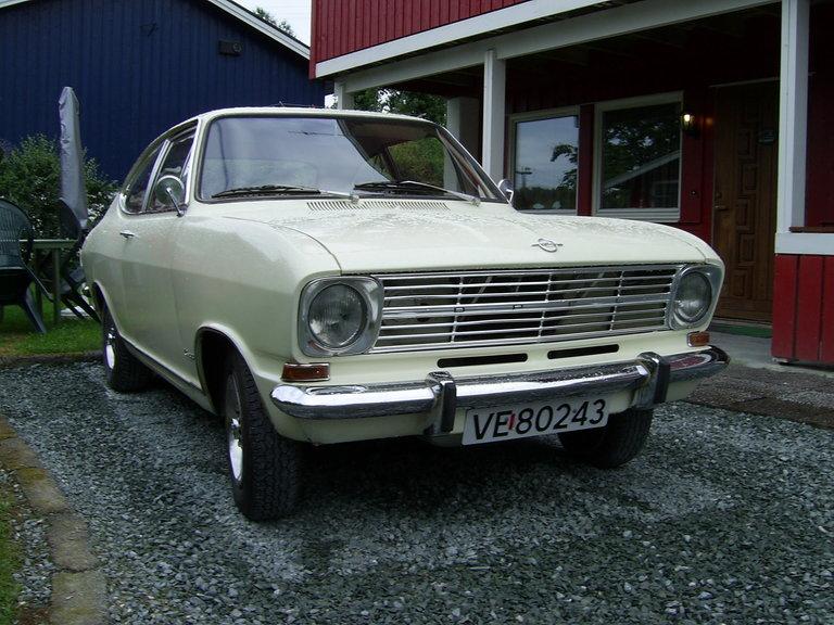 1969 - OPEL, Kadett coupe LS