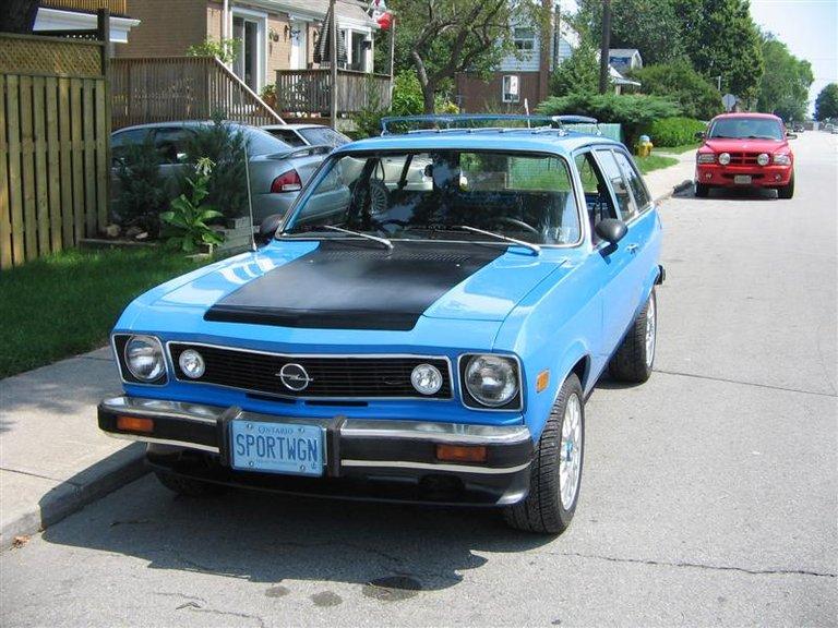 1975 - Opel, 1900 Sportwagon