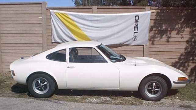 1973 - Opel, GT