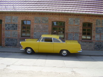 1962 - Opel Rekord Olimpia P2, Coupe