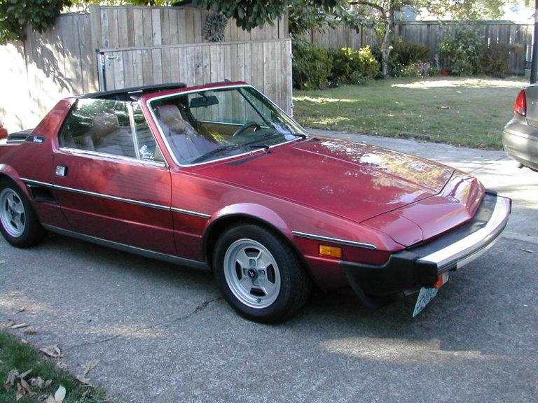 1981 - Fiat, X1/9