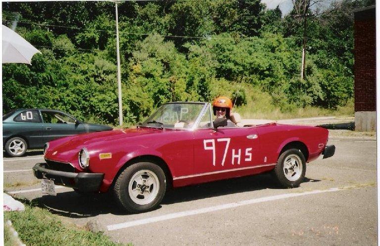 1980 - Fiat, 124 Spider 2000