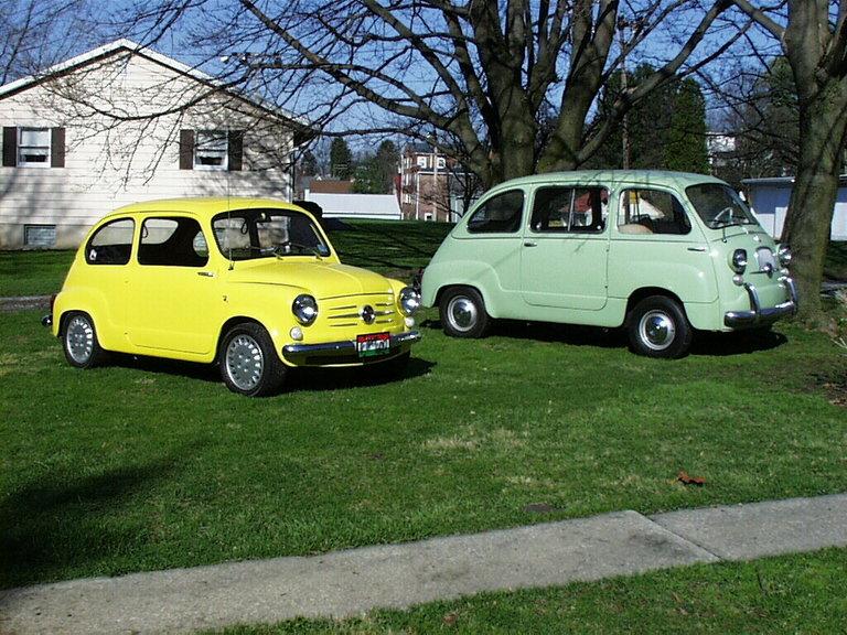 1959 - Fiat, 600 sdn & 600 multipla