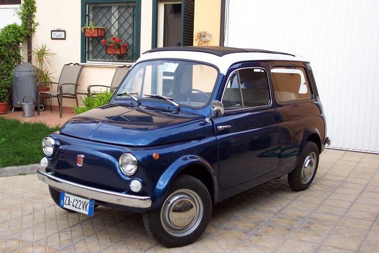 1973 - Fiat, 500 Giardienerra