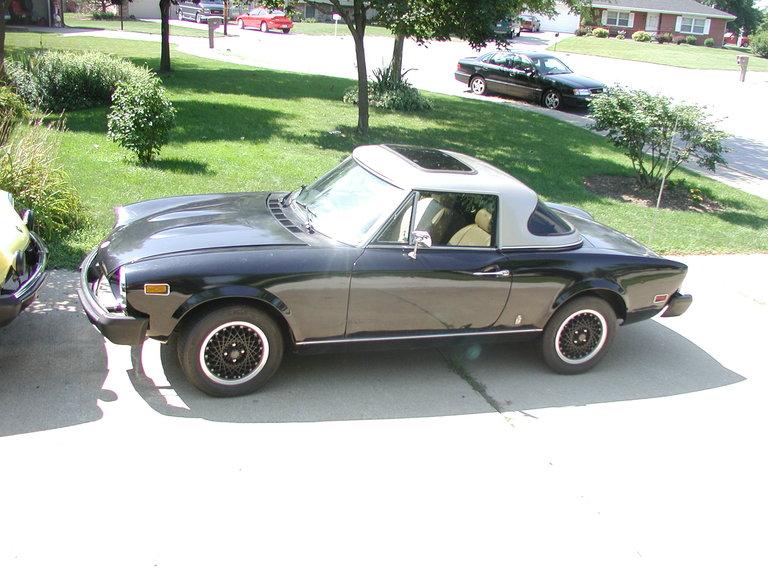 1978 - Fiat, 124 Spider