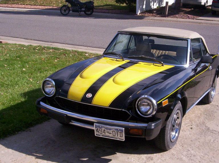 1980 - FIAT, 124 SPIDER