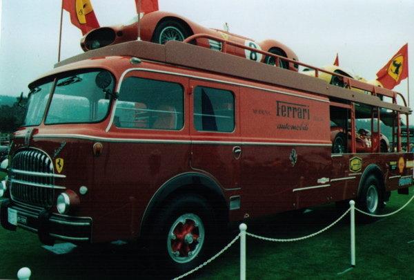 1957 - Fiat, Tipo 682 R Ferrari Works Transporter