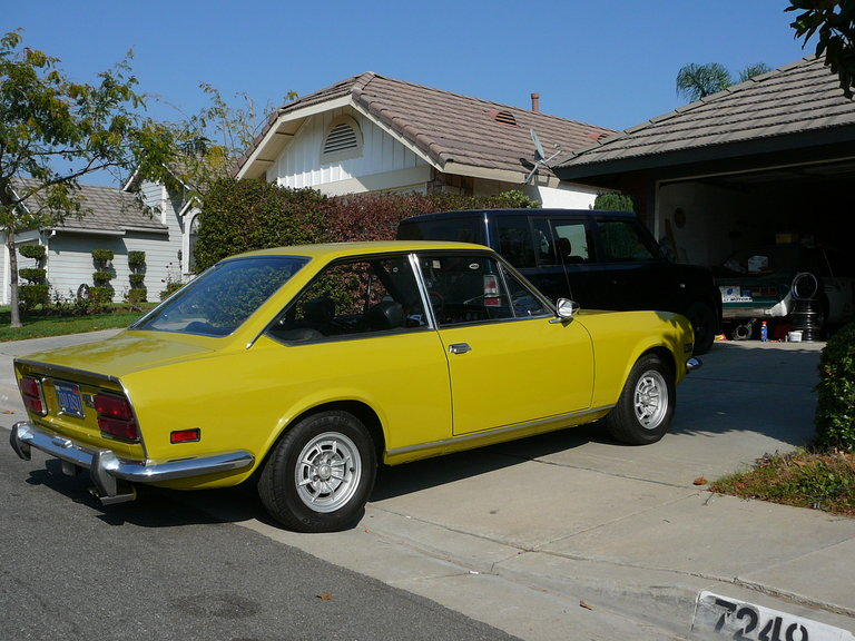 1971 - Fiat, 124 Sport Coupe