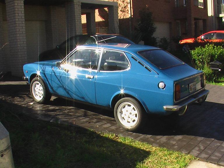 1974 - Fiat, 128 Coupe SportL