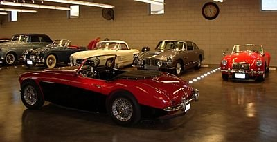 1957 - Austin Healey, 100-Six