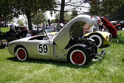 1959 - Austin Healey, Sprite 'Airport Racer'
