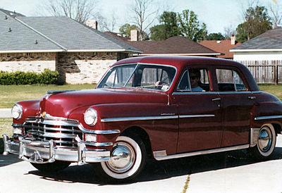 1949 - Chrysler, Windsor